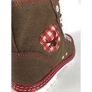 Spieth & Wensky Damen Boots Jacky Rot 436D Größe 39