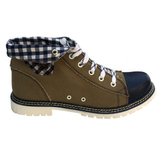 Spieth & Wensky Damen Boots Jacky Blau 436D Größe 38