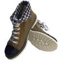 Spieth & Wensky Damen Boots Jacky Blau 436D Größe 37