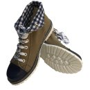 Spieth & Wensky Damen Boots Jacky Blau 436D Größe 36