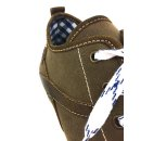 Spieth & Wensky Herren Sneaker Staven Braun Blau 589H Größe 44