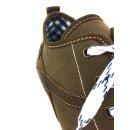 Spieth & Wensky Herren Sneaker Staven Braun Blau 589H