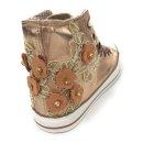 Krüger Madl Damen Sneaker Glowing Flower Kupfer 4707-12 Größe 42