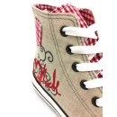 Krüger Madl Damen Sneaker Red Heart Rot 4101-7 Größe 37