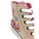 Krüger Madl Damen Sneaker Red Heart Rot 4101-7 Größe 38