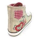 Krüger Madl Damen Sneaker Red Heart 4104-9 Größe 39