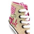 Krüger Madl Damen Sneaker Pink Heart Rosa 4104-35