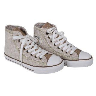 Krüger Madl Damen Sneaker Classy Sassy Beige 4166-15 Größe 35