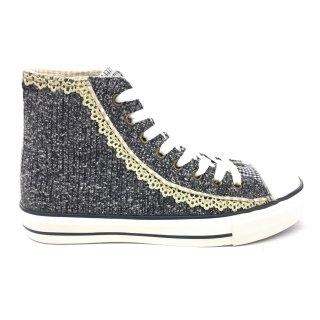 Krüger Madl Damen Sneaker Classy Sassy Blau 4166-8 Größe 36