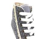 Krüger Madl Damen Sneaker Classy Sassy Blau 4166-8 Größe 37