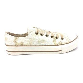 Krüger Madl Damen Sneaker Pearl Creme 4131-2 Größe 36