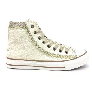 Krüger Madl Damen Sneaker Cream Dream Creme 4122-2 Größe 38
