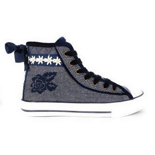 Krüger Madl Damen Sneaker Valentine Blau 4156-8 Größe 37