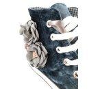 Krüger Madl Damen Sneaker Blumentraum Blau 4714-8 Größe 40
