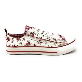 Krüger Madl Damen Sneaker Little Rose Garden Rot 4161-209 Größe 36