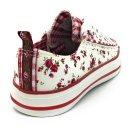 Krüger Madl Damen Sneaker Little Rose Garden Rot 4161-209 Größe 37