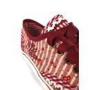 Krüger Madl Damen Sneaker Rosso Rot 4432-9 Größe 35