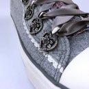 Krüger Madl Damen Sneaker Grey Couture Grau 4441-43 Größe 35